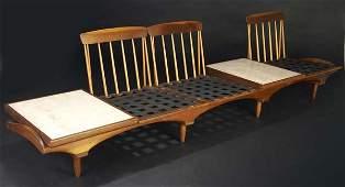 247: PHILLIP LLOYD POWELL Interchangeable three-seat se
