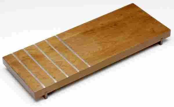 124: PAUL EVANS / PHILLIP LLOYD POWELL Walnut cheese bo