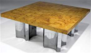 396: PAUL EVANS 4 Conjoinable Cityscape Dining Tables