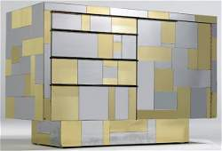 399: PAUL EVANS Cityscape cabinet
