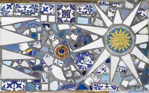 560: PHILLIP LLOYD POWELL Pique-assiette panel.