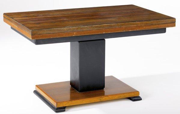 617: OTTO WRETLING (Swedish) Mixed veneer console table