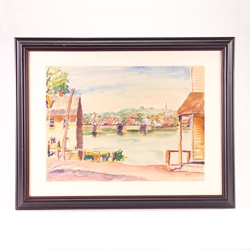 1: Max Kuehne (American 1880-1968), Lambertville - New