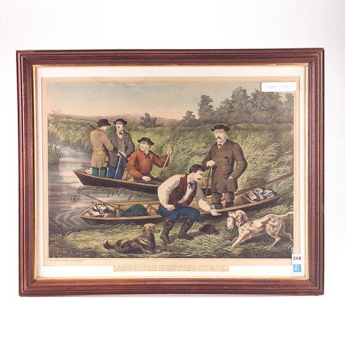 8: Thomas Kelly (American, 19th c.), American hunting s