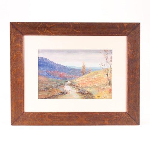 22: H.J. Marlatt (American, 1867-1929), Vermont landsca