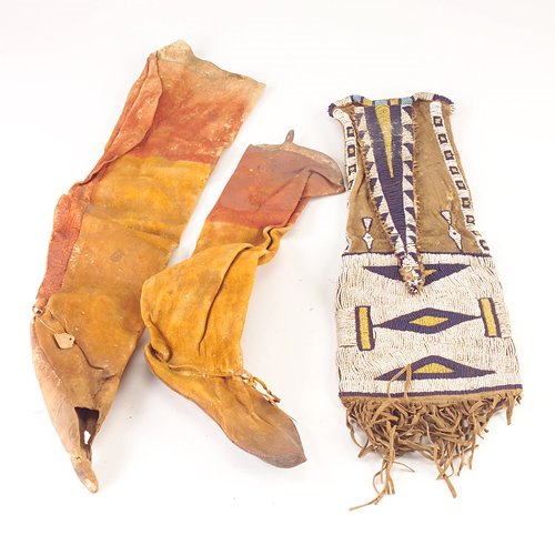 98: Native American leather leggings (general overall w