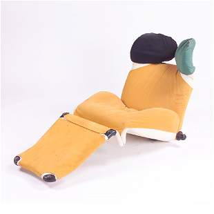 Toshiuki Kita for Cassina chaise unholstered in cr