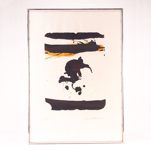 404: Robert Motherwell (American, 1915-1991) color lith