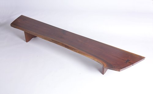7: GEORGE NAKASHIMA Coffee table with two free edges an