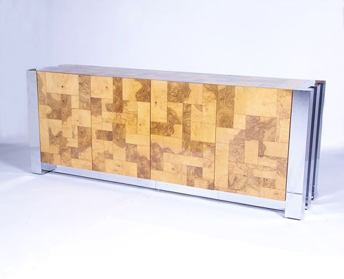 182: PAUL EVANS/CITYSCAPE Sideboard, its top and four d