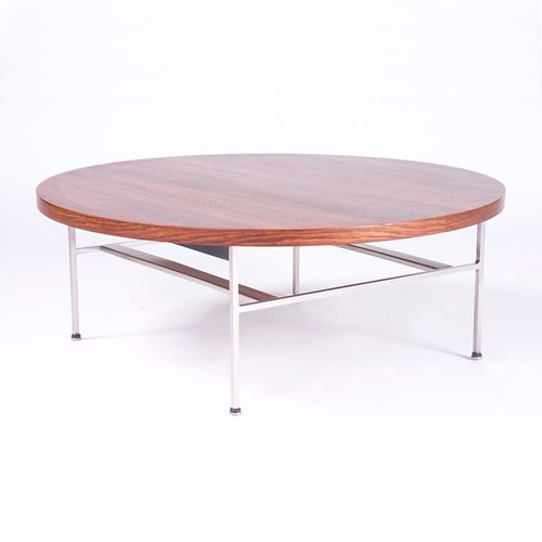 GEORGE NELSON/HERMAN MILLER Coffee table with circ