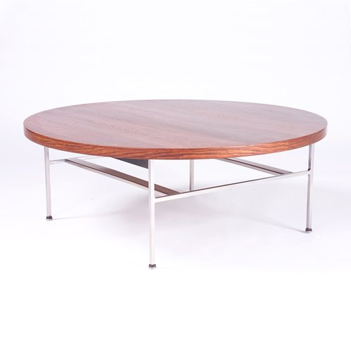 822: GEORGE NELSON/HERMAN MILLER Coffee table with circ
