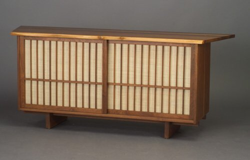 6: Fine and unusual GEORGE NAKASHIMA walnut c