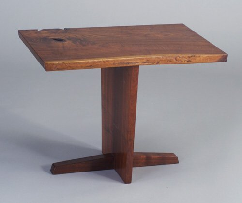 12: Fine GEORGE NAKASHIMA walnut Minguren end