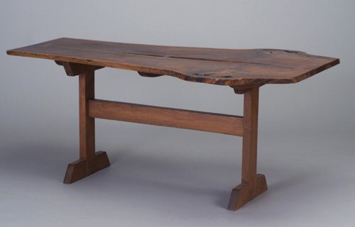 500: Dining table in the manner of George Nak