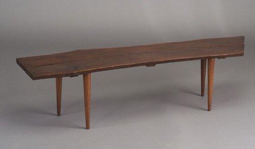 503: Bench, possibly by Shizuhiko Watanabe, w