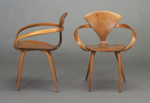 505: Pair of NORMAN CHERNER for PLYCRAFT mold