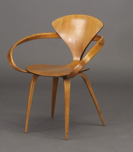 506: NORMAN CHERNER for PLYCRAFT molded plywo