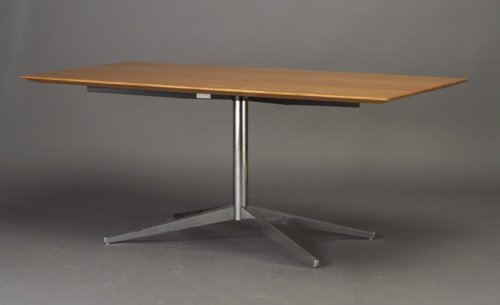 514: Rare FLORENCE KNOLL for KNOLL desk with