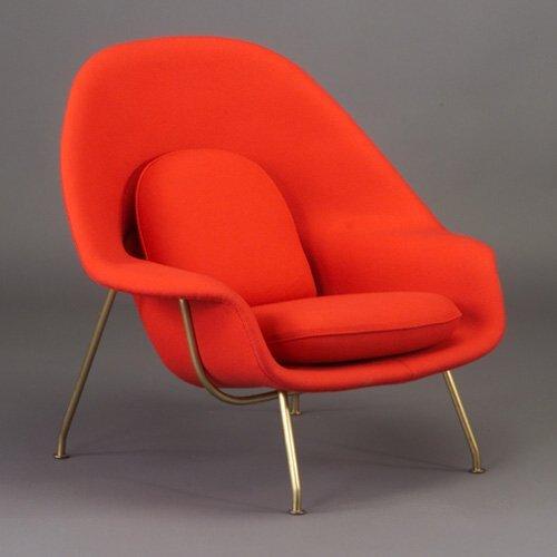 515: Early EERO SAARINEN for KNOLL Womb chair