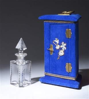 Victorian decorative perfume bottle, circa