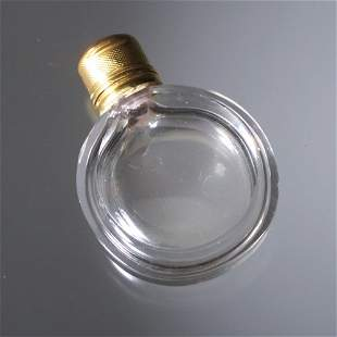 19th century scent bottle, circa 1850, in