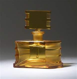 Czechoslovakian perfume bottle, circa 193
