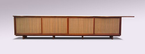 12: GEORGE NAKASHIMA Extraordinary walnut buffet, with