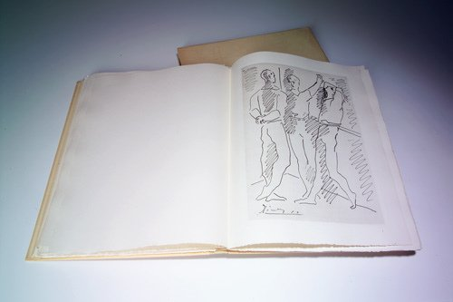 """795: Pablo Picasso (Spanish 1881-1973) """"Grace et Mouvem"""