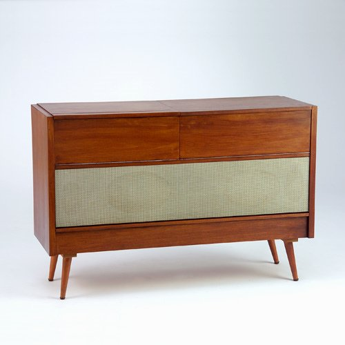 1419: DIETER RAMS/BRAUN Model MM4 Hi-fi stereo unit wit