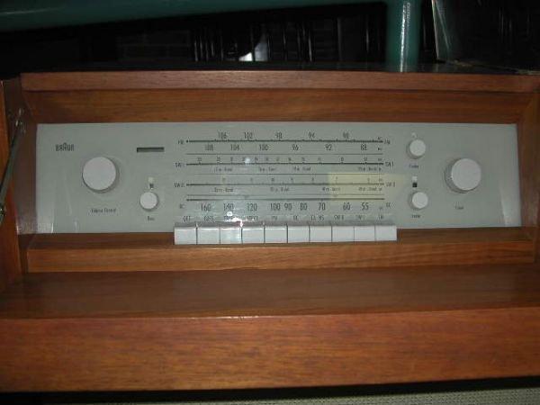 1419: DIETER RAMS/BRAUN Model MM4 Hi-fi stereo unit wit - 2