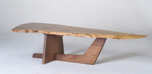 9: GEORGE NAKASHIMA Fine English walnut coffe