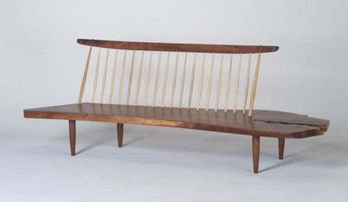 10: GEORGE NAKASHIMA Fine Conoid Bench with B