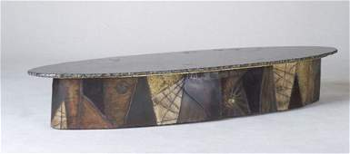 160: PAUL EVANS Fine coffee table, 1964, with