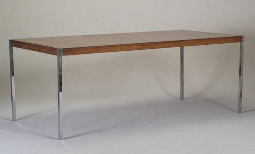305: KNOLL Rectangular conference table in ro