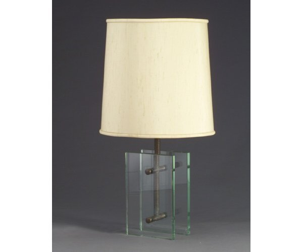 19: JAMES MONT table lamp with double-socket