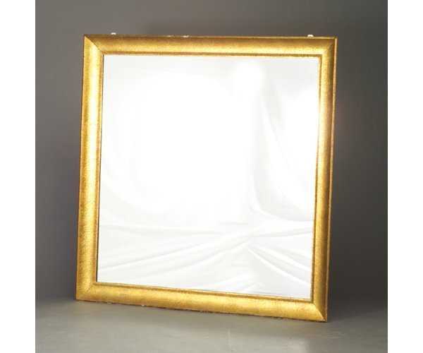 20: JAMES MONT oversized square mirror with f