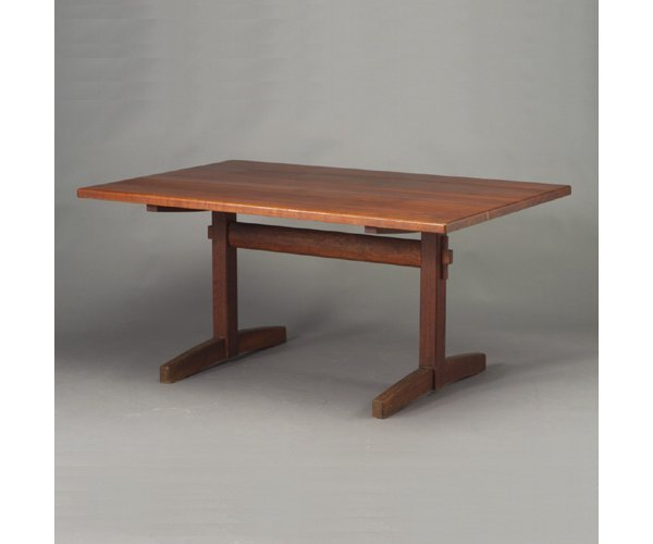 504: Dining table in the style of George Naka