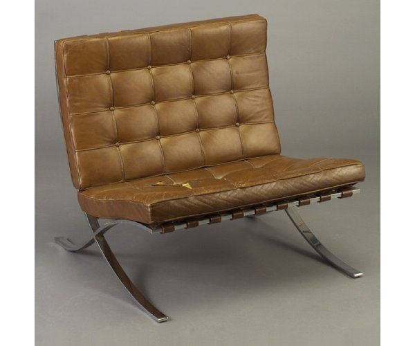 509: MIES VAN DER ROHE for KNOLL Barcelona ch