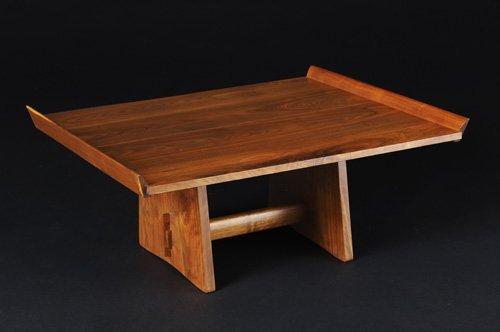 17: GEORGE NAKASHIMA Exceptional walnut Milkhouse table