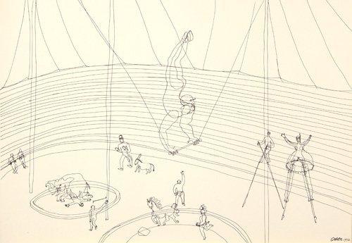 "617: Alexander Calder, ""Calder's Circus"", 1964, portfol"