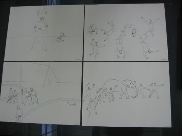 "617: Alexander Calder, ""Calder's Circus"", 1964, portfol - 6"