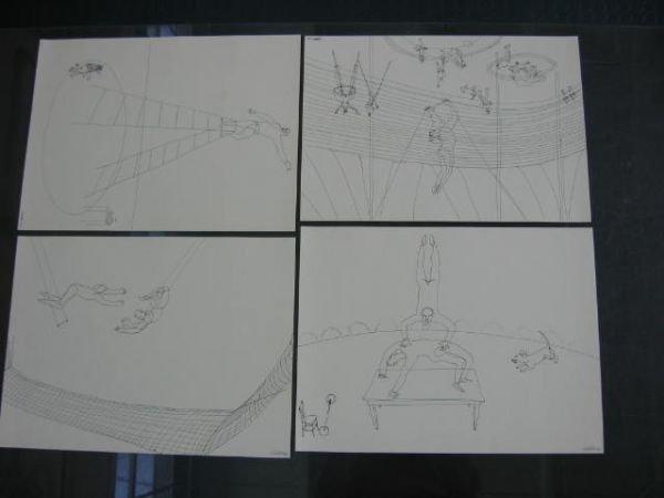"617: Alexander Calder, ""Calder's Circus"", 1964, portfol - 7"