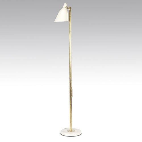 """1192: ARREDOLUCE Rare """"Rise and Fall"""" floor lamp with w"""