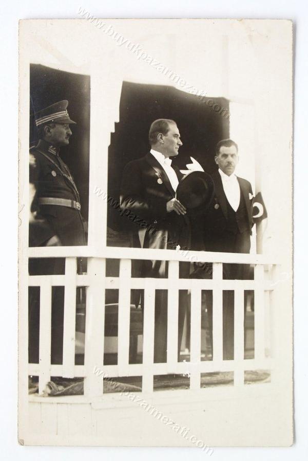 18: Ataturk  and Kazim Pasha celebrating the 5th Anni.