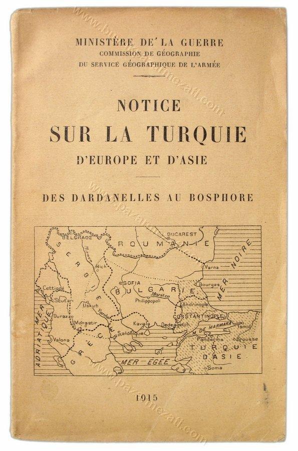 43:Turquie d'Europe et d'Asie Dardanelles au Bosphore