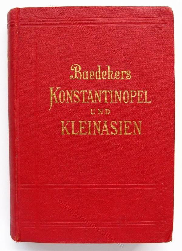 50: Konstantinopel und Kleinasien , Baedeker 1905