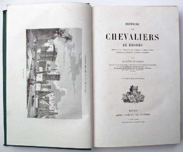 451: Eugène Flandin, Histoire des Chevaliers de Rhodes