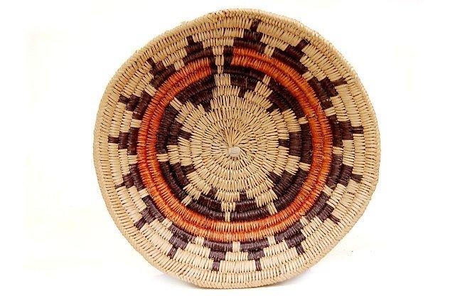 """19: Vintage Navajo ceremonial 11"""" wedding basket"""