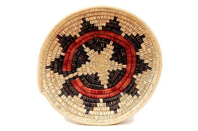"""20: Vintage Navajo ceremonial 11"""" wedding basket"""
